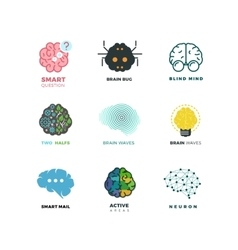 Brain creation invention inspiration idea vector