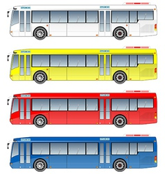 City bus vector