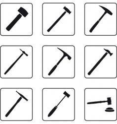 Hammers vector