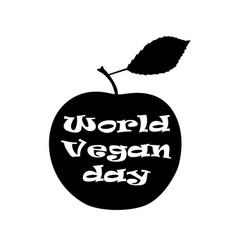 ill world vegetarian day vector image