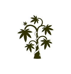 Medical-Plant-380x400 vector image