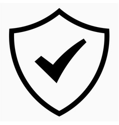 protect icon vector image