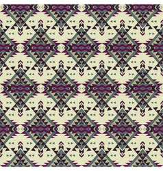 Seamless colorful decorative ethnic pattern vector