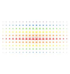 Spider spectral halftone matrix vector