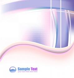 futuristic business card vector image