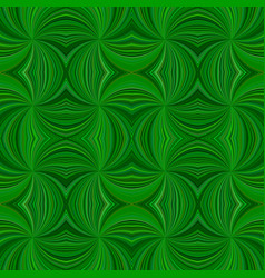 green hypnotic abstract seamless striped vortex vector image