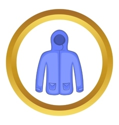 Hoodie sweater icon vector