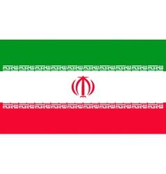 Iranian flag vector