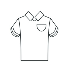 Isolated sport tshirt design vector