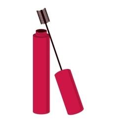 mascara wand icon vector image