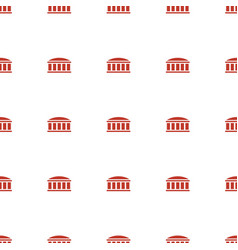 Observatory icon pattern seamless white background vector