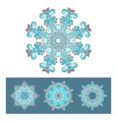 Snowflakes symbol design vector