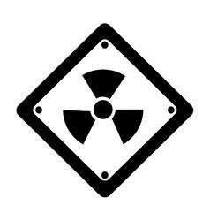 toxic symbol icon image vector image
