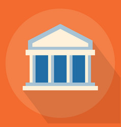 University or bank vector