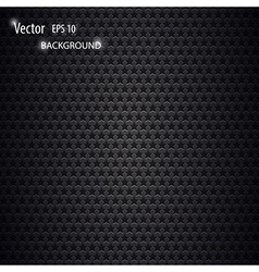 carbon metallic background vector image