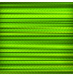 Abstract green zig zag striped background vector image vector image