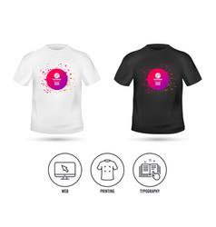 basketball basket and ball icon sport symbol vector image