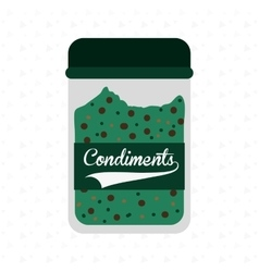 condiments icon design vector image