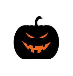 evil jack o lantern vector image