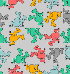 Head in sand pattern seamless hiding from vector