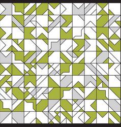 intricate geometrical seamless pattern design vector image