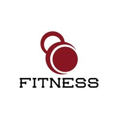 Kettlebell fitness vector