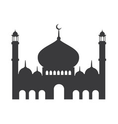 Moslem icon vector
