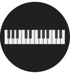 Piano Icon vector image