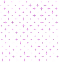 Seamless pink Star Pattern vector