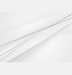 White and grey abstract stripes concept background vector