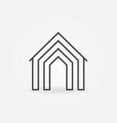 home concept icon vector image