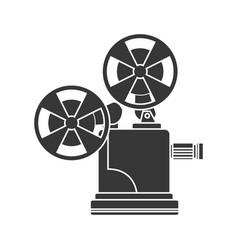 short film video camera studio vector image vector image