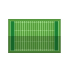 field american football grass vector image