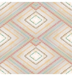 Seamless pattern with geometric elements vector image vector image
