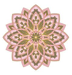 Abstract mandala vector
