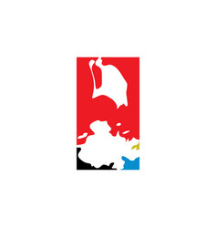 antigua and barbuda logo icon vector image