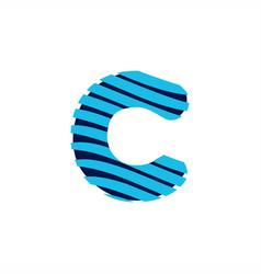 c logo vector image