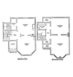 The bennett floor plans coleman homes countryside vector