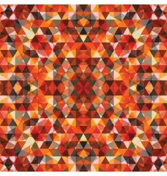 Triangular Mosaic Colorful Background vector image