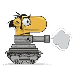 tank man vector image