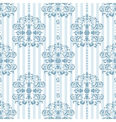 Royal Blue Background Pattern vector image vector image