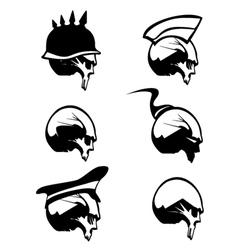 Skull Silhouette vector image vector image
