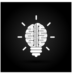 Brain Icon Logo Abstract Icon Logo Science Icon vector