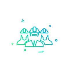 gropu avatar icon design vector image