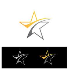 simple stars vector image
