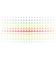 Stomatology spectral halftone matrix vector