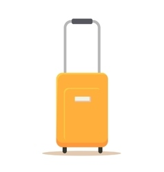 Suitcase flat design icon vector