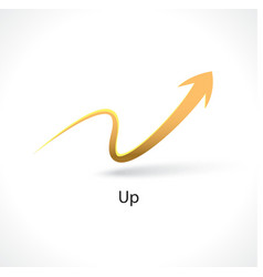 Up arrow vector