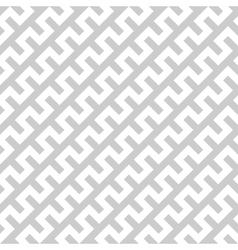 White zigzag lines in diagonal arrangement on grey vector image