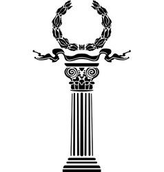 laurel vector image